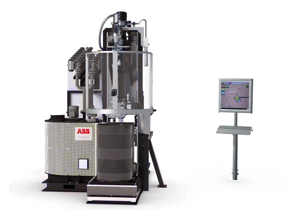 ابداع سیستم جدید تخلیه بشکه توسط کمپانی ABB