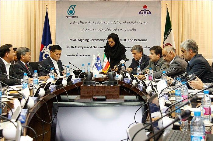 شرکت ملی نفت ایران و پتروناس بر توسعه همکاریها تاکید کردند