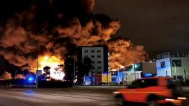 آتش سوزی در کارخانه لوبریزول فرانسه